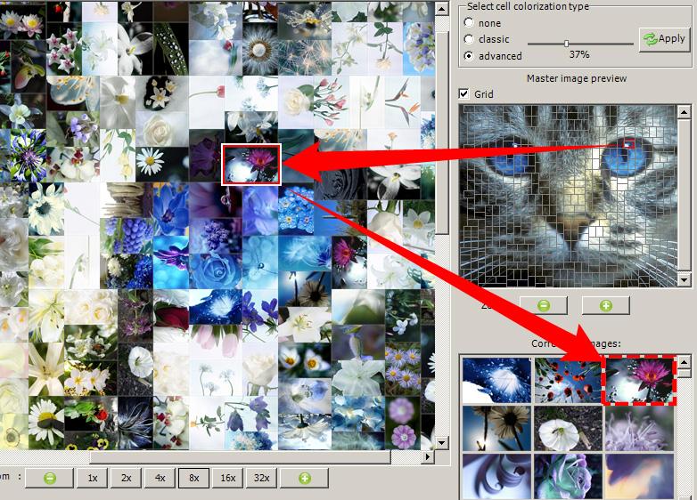 вам программы для фотомозаики очень заинтересовал этот