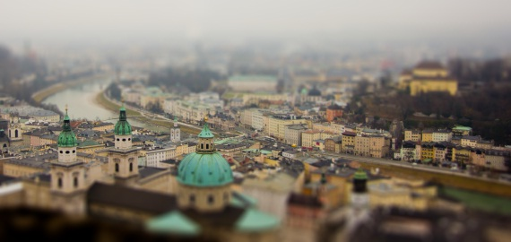 tilt and shift photos