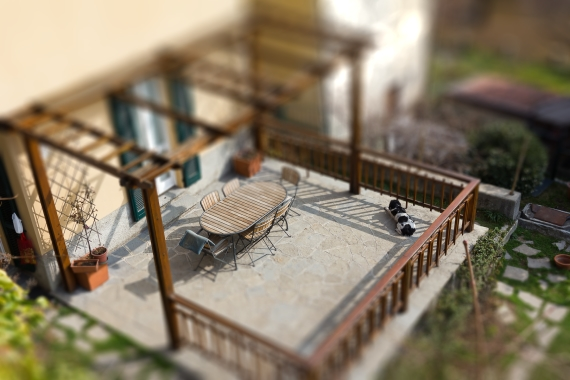 tilt shift miniature