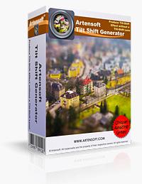Artensoft Tilt Shift Generator