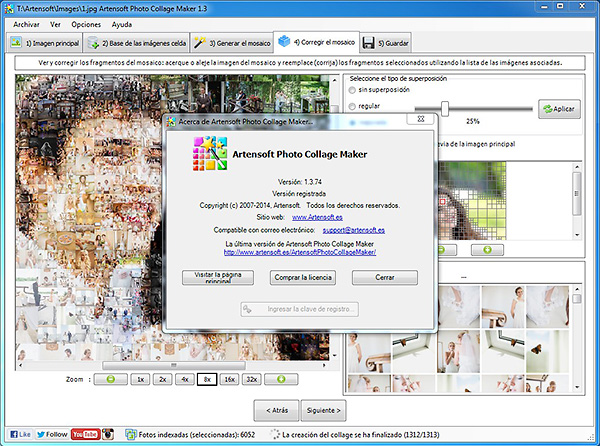 Über Artensoft Photo Collage Maker 1.3