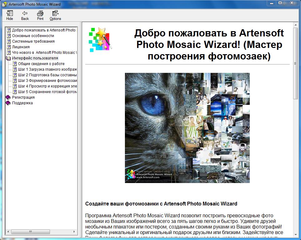 программы для фотомозаики мне